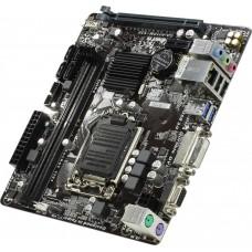 Материнская плата БУ GA-H110M-S2V [Micro-ATX.SOCKET 1151. DDR4-x2(2133 до 32Гб). 4xSATA. 1xPCI-E 1шт. 16xPCI-E 1шт. USB2.0 2шт. USB3.2 2шт]