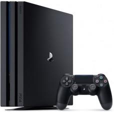 Игровая консоль БУ PlayStation 4 Pro Black 1TB + 2 игры CUH-720BB