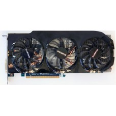 Видеокарта БУ AMD 02048Mb HD7870