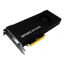 Видеокарта PNY GeForce GTX 1070 1506Mhz PCI-E 3.0 8192Mb 8000Mhz 256 bit DVI HDMI HDCP Blower