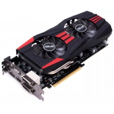 Видеокарта БУ AMD 02048Mb ASUS R9 270X-DC2T-2GD5