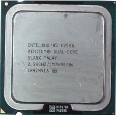Процессор БУ INTEL PENTIUM E2260 [Socket 775. 2-ядерный. 2200 МГц. Wolfdale. Кэш L2 - 1 Мб. 45 нм. 65 Вт]