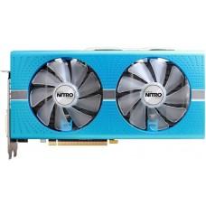 Видеокарта БУ 08192Mb RX580 SAPPHIRE NITRO+ RX580 [PCI-E 8Gb OC AMD Radeon RX 580 8192Mb 256bit GDDR5 1411/8000 DVIx1/HDMIx2/DPx2/HDCP Ret]