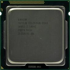 Процессор БУ INTEL CELERON G540 [Socket 1155. 2-ядерный. 2700 МГц. Sandy Bridge. Кэш L2 - 0.5 Мб. Кэш L3 - 2 Мб. Intel HD Graphics. 32 нм. 65 Вт]
