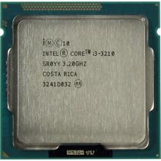 Процессор БУ INTEL CORE I3-3210 [Socket 1155. 2-ядерный. 3200 МГц. Sandy Bridge. Кэш L2 - 0.5 Мб. Кэш L3 - 3 Мб. Intel HD Graphics. 32 нм. 65 Вт]