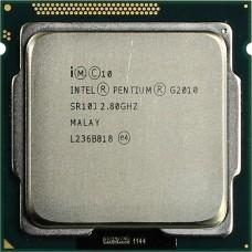 Процессор БУ INTEL PENTIUM G2010 [Socket 1155. 2-ядерный. 2800 МГц. Ivy Bridge. Кэш L2 - 0.5 Мб. Кэш L3 - 3 Мб. Intel HD Graphics. 22 нм. 55 Вт]