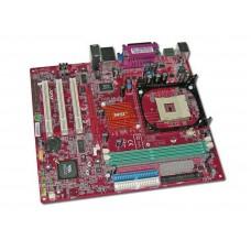 Материнская плата БУ MSI P4MAM-V [6787] Socket 478. VIA P4M266A. DDR266. FSB533. Video. AGP4. LAN. Sound. USB 2.0. 0 mATX