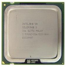 Процессор БУ INTEL CELERON D 336 [Socket 775. 1-ядерный. 2800 МГц. Prescott. Кэш L2 - 0.256 Мб. 90 нм. 84 Вт]