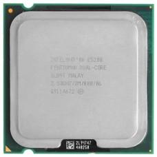 Процессор БУ INTEL PENTIUM E5200 [Socket 775. 2-ядерный. 2500 МГц. Wolfdale. Кэш L2 - 2 Мб. 45 нм. 65 Вт]