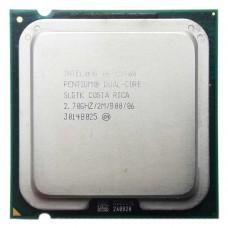 Процессор БУ INTEL PENTIUM E5400 [Socket 775. 2-ядерный. 2700 МГц. Wolfdale. Кэш L2 - 2 Мб. 45 нм. 65 Вт]