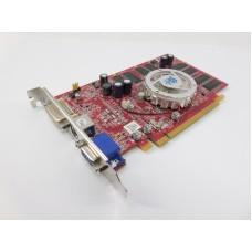 Видеокарта БУ AMD 00256Mb RADEON X550 [GIGABYTE GV-RX55256DP]