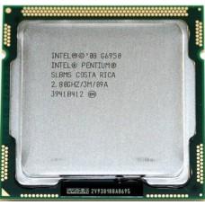 Процессор БУ INTEL PENTIUM G6950 [Socket 1156. 2-ядерный. 2800 МГц. Clarkdale. Кэш L2 - 0.5 Мб. Кэш L3 - 3 Мб. Intel HD Graphics. 32 нм. 73 Вт]