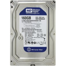 Жесткий диск БУ 3.5 0160GB WESTERN DIGITAL WD1600AAJS [SATA]