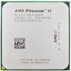 Процессор БУ AMD Phenom II 945 (AM3. 3000MHz/4x512Kb+6Mb. Deneb. 45nm. 95W)
