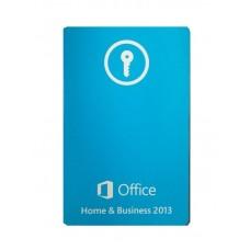 Офисное приложение MICROSOFT OFFICE HOME AND BUSINESS 2013 Карта активации