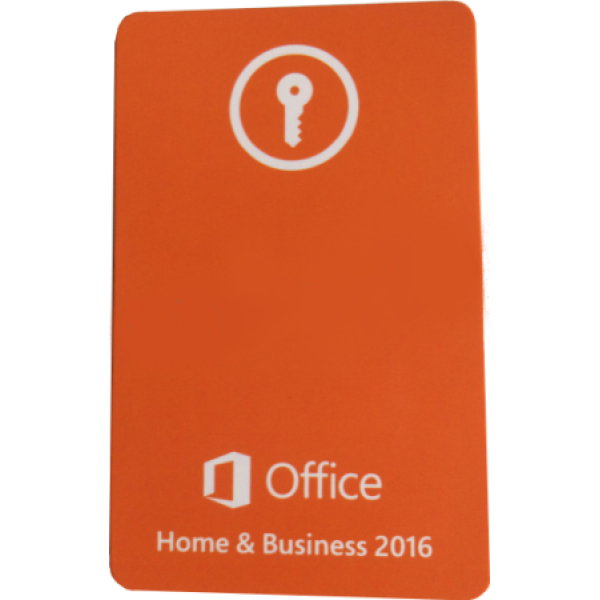 Право на использование MICROSOFT OFFICE HOME AND BUSINESS 2016 Карта активации