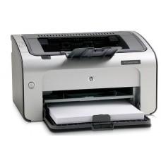 Принтер БУ HP LASERJET P1005 [A4. 600x600 dpi .12 стр/мин (ч/б А4)  LPT. USB. 370x209x242 мм ]