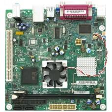 Материнская плата БУ INTEL D945GCLF предустановленый процессор ATOM230