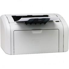 Принтер БУ HP LASERJET 1018 [A4. 600x600 dpi .12 стр/мин (ч/б А4)  LPT. USB. 370x209x242 мм ]