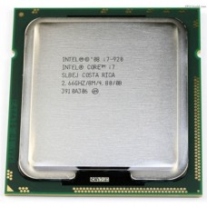 Процессор БУ INTEL CORE I7-920 [Socket 1366. 4-ядерный. 2933 МГц. Bloomfield. Кэш L2 - 1 Мб. Кэш L3 - 8 Мб. 45 нм. 130 Вт]