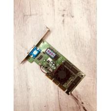 Видеокарта БУ NVIDIA 0064Mb GF FX5200