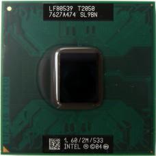 Процессор БУ INTEL PENTIUM DUAL-CORE T2050 [1600MHz. L2 2048Kb. 533MHz]