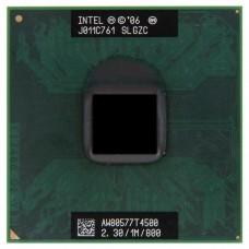 Процессор БУ INTEL PENTIUM DUAL-CORE T4500 [2300 MHz. Socket P.478-pin micro FC-PGA.Clock multiplier 11.64 bit.35 Watt]