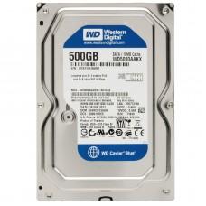 Жёсткий диск БУ 3.5 0500Gb WESTERN DIGITAL WD5000AAKX