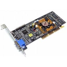 Видеокарта БУ NVIDIA 0032Mb MX400 GX-G256/32M