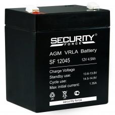 Аккумулятор SECURITY FORSE SF12045