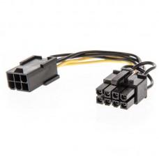 Адаптер 6 pin to 8 pin GPU power adapter cable