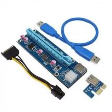 Удлинитель PCI-E Raiser v8s card for GPU 250W+