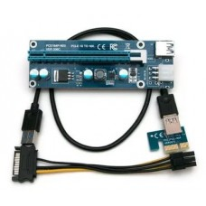 Удлинитель PCI-E Raiser v9s card for GPU 250W+