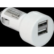Зарядное устройство для авто DEFENDER 1A+1A 2USB ECA-15 83562 83562