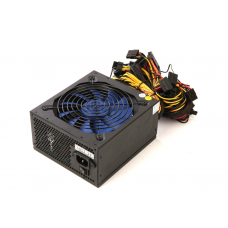 Блок питания R-Senda SD-1600W-1. 1600W PSU. 8pin(4+4pin)*1pc. 24pin*1pc. 6+2pin*12pcs. sata*8pcs. molex*6pcs. Efficiency:90% SD-1600W-1
