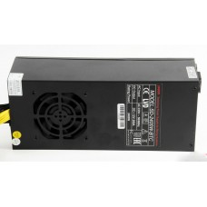 Блок питания R-Senda SD-2400W-BTC 16AWG for ASIC overclock mode S9 18TH. 2400W Mining PSU all cabels 16AWG. высота 8 см