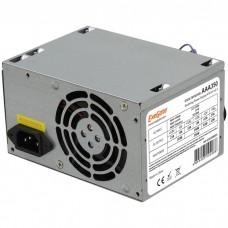 Блок питания 350W ExeGate AA350, ATX, PC, 8cm fan, 24p+4p, 2*SATA, 1*IDE + кабель 220V в комплекте