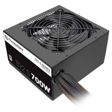 Блок питания Thermaltake atx 700w tr2 s trs-700ah2nk 80+ (24+4+4pin) apfc 120mm fan 6xsata rtl TRS-0700P-2