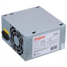 Блок питания 450W ExeGate AA450, ATX, 8cm fan, 24p+4p, 2*SATA, 1*IDE