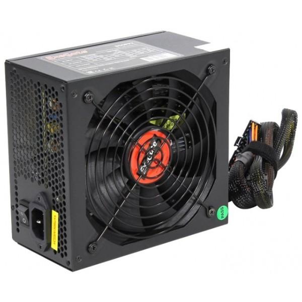 Блок питания Exegate 1000ppx. 1000w. atx. 140mm fan. apfc. black (ex222115rus) EX222115RUS