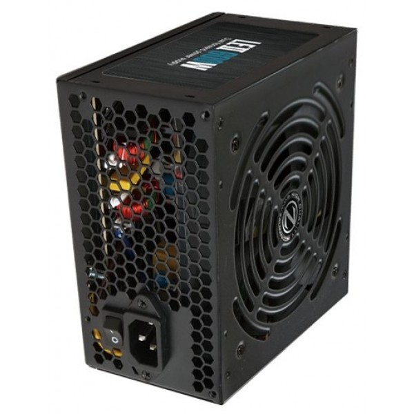 Блок питания Zalman ZM600-LE II 600W. ATX 12V V2.3. 120mm fan. active PFC. Cord 220V EU ZM600-LEII