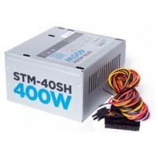 Блок питания STM Electronics STM-40SH 400W psu. atx. 80mm. 2xsata 40SH