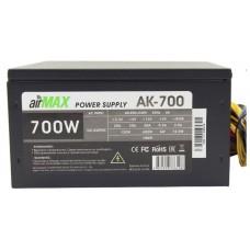 Блок питания Powercool AirMax AK-700W 700W ATX (24+4+6пин. 140mm (SCP)\(OVP)\(OCP)\(UVP)\ATX 12V v.2.3) AK-700W