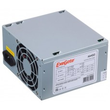 Блок питания Exegate aa450. 450w atx. 8cm fan. 24+4pin. 2*sata. 2*ide
