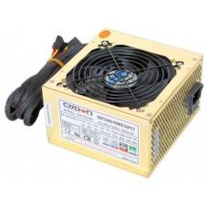 Блок питания CROWN CM-PS450W smart   (20+4in. 120mm FAN. SATA*2. PATA(big Molex)*4. FDD*1. 4+4pin. L