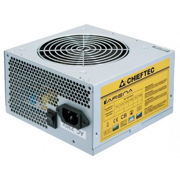 Блок питания Chieftec PSU GPA-600S 600W ATX2.3 APFC 12cm Fan Active PFC 20+4p: 4p: 6+2p: 3xSATA: 2*Molex+FDD OEM GPA-600S