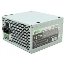 Блок питания AirMax AA-450W 450W ATX (24+4+6пин. 120mm (SCP)\(OVP)\(OCP)\(UVP)\ATX 12V v.2.3) AA-450W