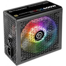 Блок питания Thermaltake Toughpower GX1 RGB 600W (PS-TPD-0600NHFAGE-1) v.2.4,A.PFS,80 Plus Gold,Fan 12 cm,Retail