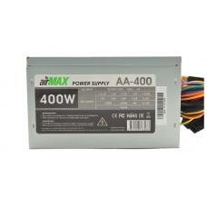 Блок питания AirMax AA-400W 400W ATX (24+4+6пин. 120mm (SCP)\(OVP)\(OCP)\(UVP)\ATX 12V v.2.3) AA-400W