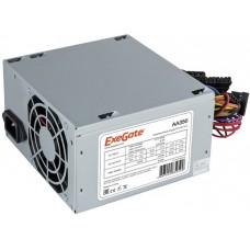 Блок питания Exegate EX253681RUS-S AA350, ATX, SC, 8cm fan, 24p+4p, 2*SATA, 1*IDE + кабель 220V с защитой от выдергивания